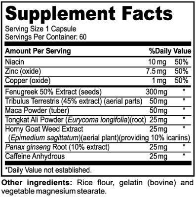 multivitamin for men ingredients