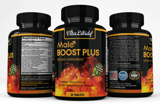 VitaLibido Male Boost Plus supplement