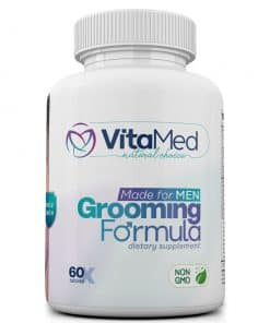 Grooming Formula - Hair, Skin, and Nail support for men - Bottle image