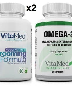 2 bottles Grooming & 1 bottle Mega Omega-3