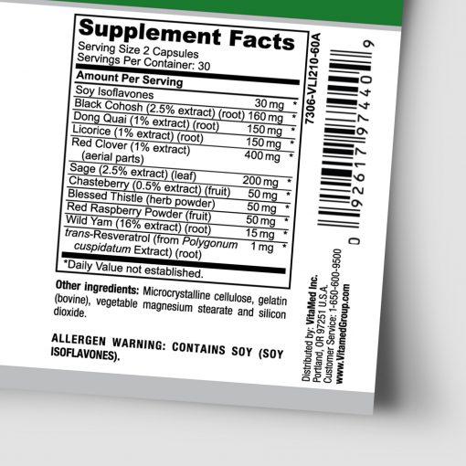 VitaFem Supplement Facts